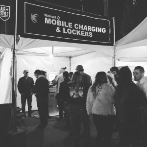 Busy keeping phones charged @airandstyle come on by and borrow a charger compliments of @walmart
