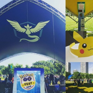 We are on the hunt for @pokemon at #pokemongofest2018 and if you need to charge those phones while exploring find our kiosks at all team lounges. #pokemon #pokemongo #chargerent