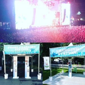 Excited for day2 of @bumbershoot. Look for our kiosks throughout the festival and charge your devices on the go!  #bumbershoot #festival #music #summer