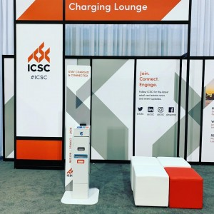 Honored to be partnering with @icsc to keep phones charged at their Canadian Convention. Look for us at booth 1027