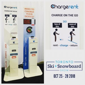 Attending @torontoskishow ?  Come by our booth and borrow a charger for free and keep your phone charged!