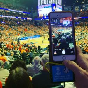 We made sure we caught all the action @sec Finals. @att #sec #att #basketball #chargerent