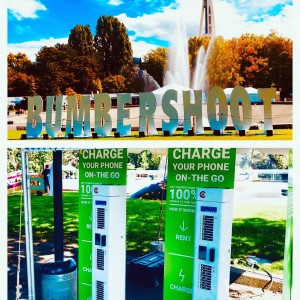 We are proud to provide our charging solution @bumbershoot  once again. Look for our tent and rent a charger for the day! #bumbershoot #music #festival