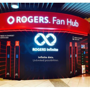 Our newest activation with @rogers ready for the new @nhl season.