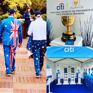 Proud to be providing the charging solution to @presidentscup with @citi keep your devices charged by borrowing a charger from one of the Citi tents throughout the club