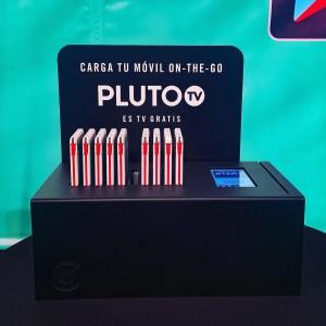 CT10. Custom branded charging station